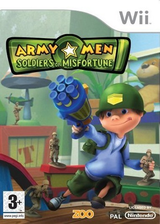 Army Men : Soldiers of Misfortune pochette Wii (RKYP7J)