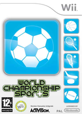 World Championship Sports pochette Wii (RLQP52)