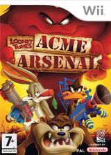 Looney Tunes: Acme Arsenal pochette Wii (RLYPWR)