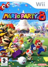 Mario Party 8 pochette Wii (RM8P01)