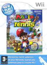 Mario Power Tennis pochette Wii (RMAP01)