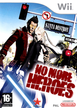 No More Heroes pochette Wii (RNHP99)