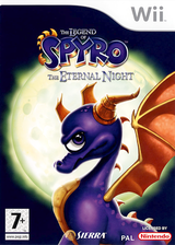 The Legend of Spyro :The Eternal Night pochette Wii (RO7P7D)