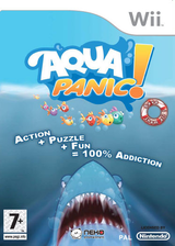Aqua Panic! Sauvez-les Tous!!! pochette Wii (RO9PNK)