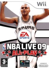 NBA Live 09 All-Play pochette Wii (RQ9F69)