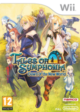 Tales of Symphonia : Dawn of the New World pochette Wii (RT4PAF)