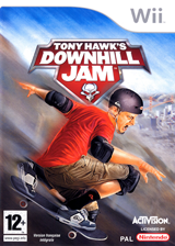 Tony Hawk's Downhill Jam pochette Wii (RTHP52)