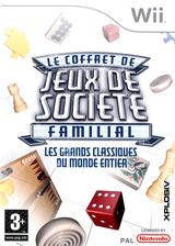 Le Coffret De Jeux De Societe Familial pochette Wii (RUBP7N)