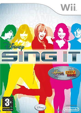 Disney : Sing It pochette Wii (RUIP4Q)