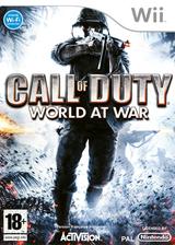 Call of Duty:World at War pochette Wii (RVYD52)