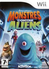 Monstres contre Aliens pochette Wii (RVZP52)
