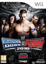 WWE SmackDown vs. Raw 2010 pochette Wii (RXAP78)