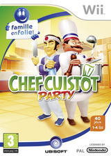 Chef Cuistot Party pochette Wii (RZLP41)