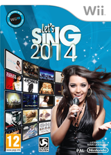 Let's Sing 2014 pochette Wii (S7KPKM)