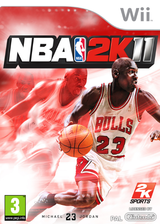 NBA 2K11 pochette Wii (SB5P54)