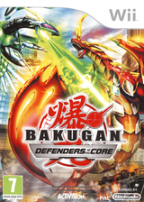 Bakugan : Defenders of the Core pochette Wii (SB6P52)