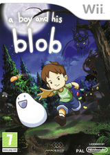A Boy and His Blob pochette Wii (SBLP5G)