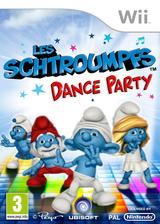 Les Schtroumpfs:Dance Party pochette Wii (SDUP41)