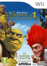 Shrek 4:Il Etait une Fin pochette Wii (SK4P52)