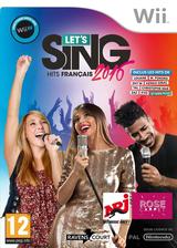 Let's Sing 2016 pochette Wii (SLGPKM)