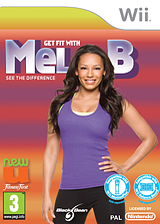Get Fit with Mel B pochette Wii (SNGPLG)