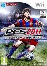 Pro Evolution Soccer 2011 pochette Wii (SPVYA4)