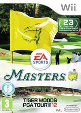 Tiger Woods PGA Tour 12 :The Masters pochette Wii (STXP69)