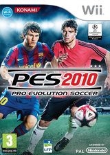 Pro Evolution Soccer 2010 pochette Wii (SUXYA4)