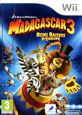 Madagascar 3:Bons baisers d'Europe pochette Wii (SV3PAF)