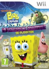 Bob l'éponge:La vengeance robotique de Plankton pochette Wii (SVDP52)