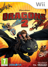 How to Train Your Dragon 2 pochette Wii (SVZPVZ)