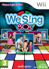 We Sing 80s pochette Wii (SW8PNG)