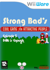 Strong Bad Episode 5 : 8-bit is Enough pochette WiiWare (WB3P)