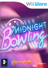 Midnight Bowling pochette WiiWare (WB8P)