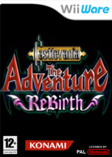 Castlevania : The Adventure ReBirth pochette WiiWare (WD9P)