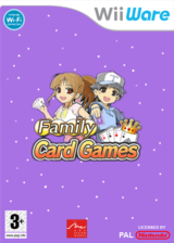 Family Card Games pochette WiiWare (WF5P)