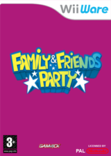 Family & Friends Party pochette WiiWare (WFMP)