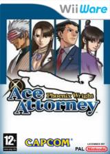 Phoenix Wright: Ace Attorney pochette WiiWare (WGSP)