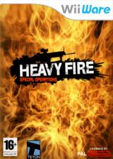 Heavy Fire: Special Operations pochette WiiWare (WHFP)
