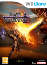 Rage of the Gladiator pochette WiiWare (WRGP)