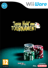 Texas Hold'em Tournament pochette WiiWare (WTXP)