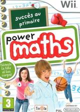 Succès au primaire:Power maths pochette WiiWare (WUIP)