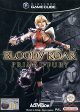 Bloody Roar: Primal Fury GameCube cover (GBLP52)