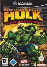 The Incredible Hulk Ultimate Destruction GameCube cover (GHUP7D)