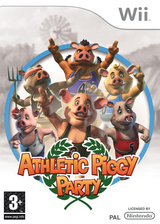 Athletic Piggy Party Wii cover (R4LPUG)