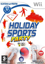 Holiday Sports Party Wii cover (R8SP41)
