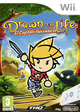 Drawn to Life: Il Capitolo Successivo Wii cover (R9DP78)