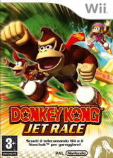 Donkey Kong: Jet Race Wii cover (RDKP01)