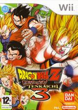Dragon Ball Z: Budokai Tenkaichi 3 Wii cover (RDSPAF)