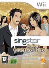 SingItStar Italian Greatest Hits CUSTOM cover (RGHPOH)
